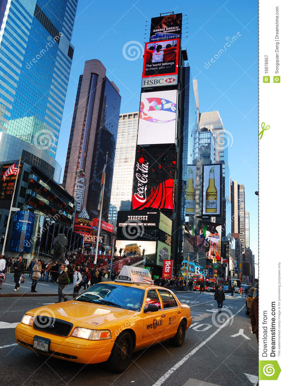 New York City Times Square Editorial Photography. Image Of