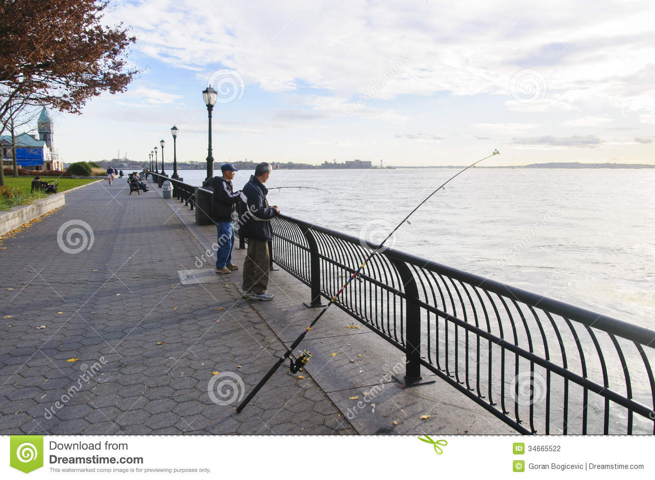 New york city editorial photography image 34665522 for Fishing in new york city