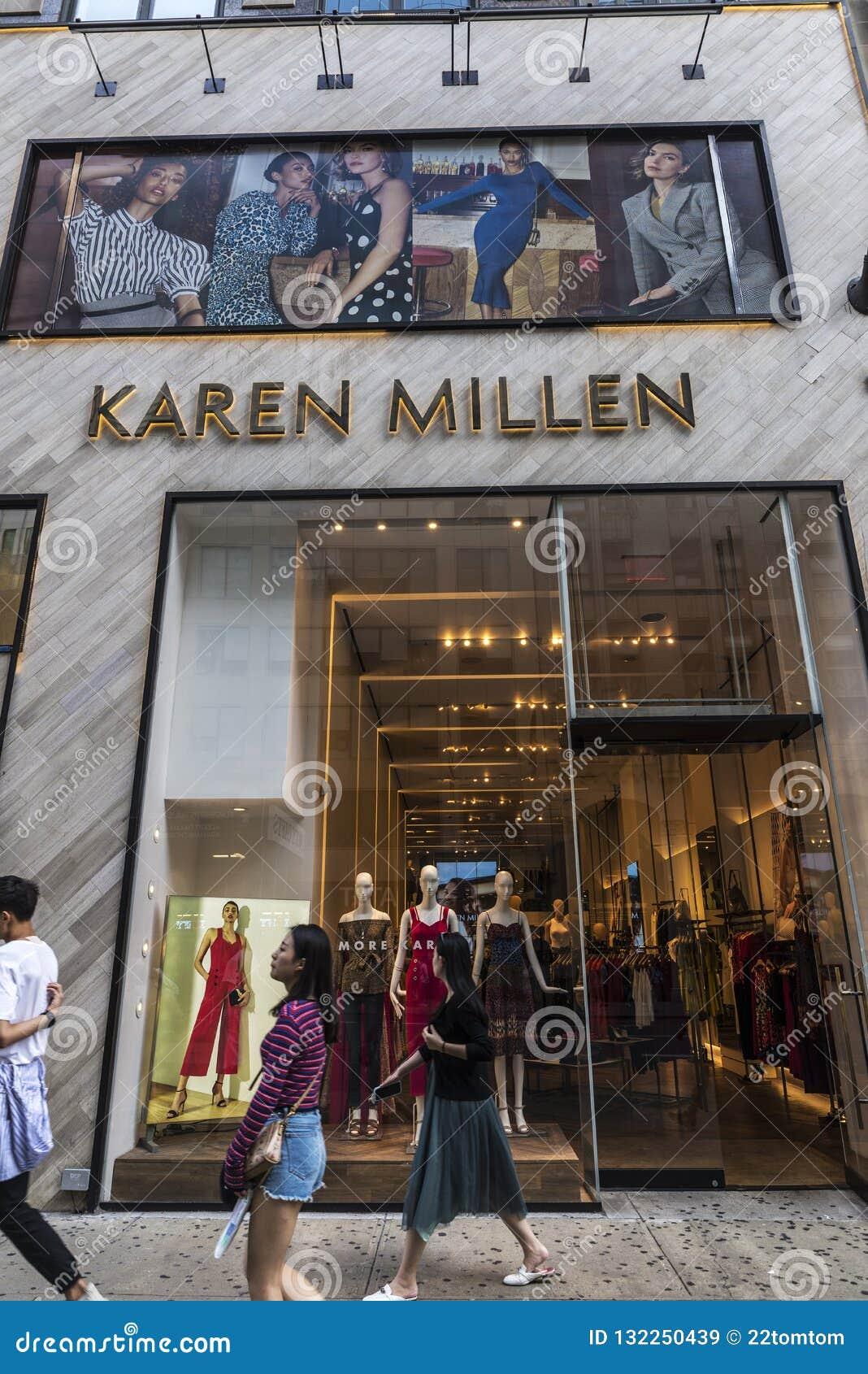 1c5d691aed6 Karen Millen Store In New York City, USA Editorial Stock Image ...