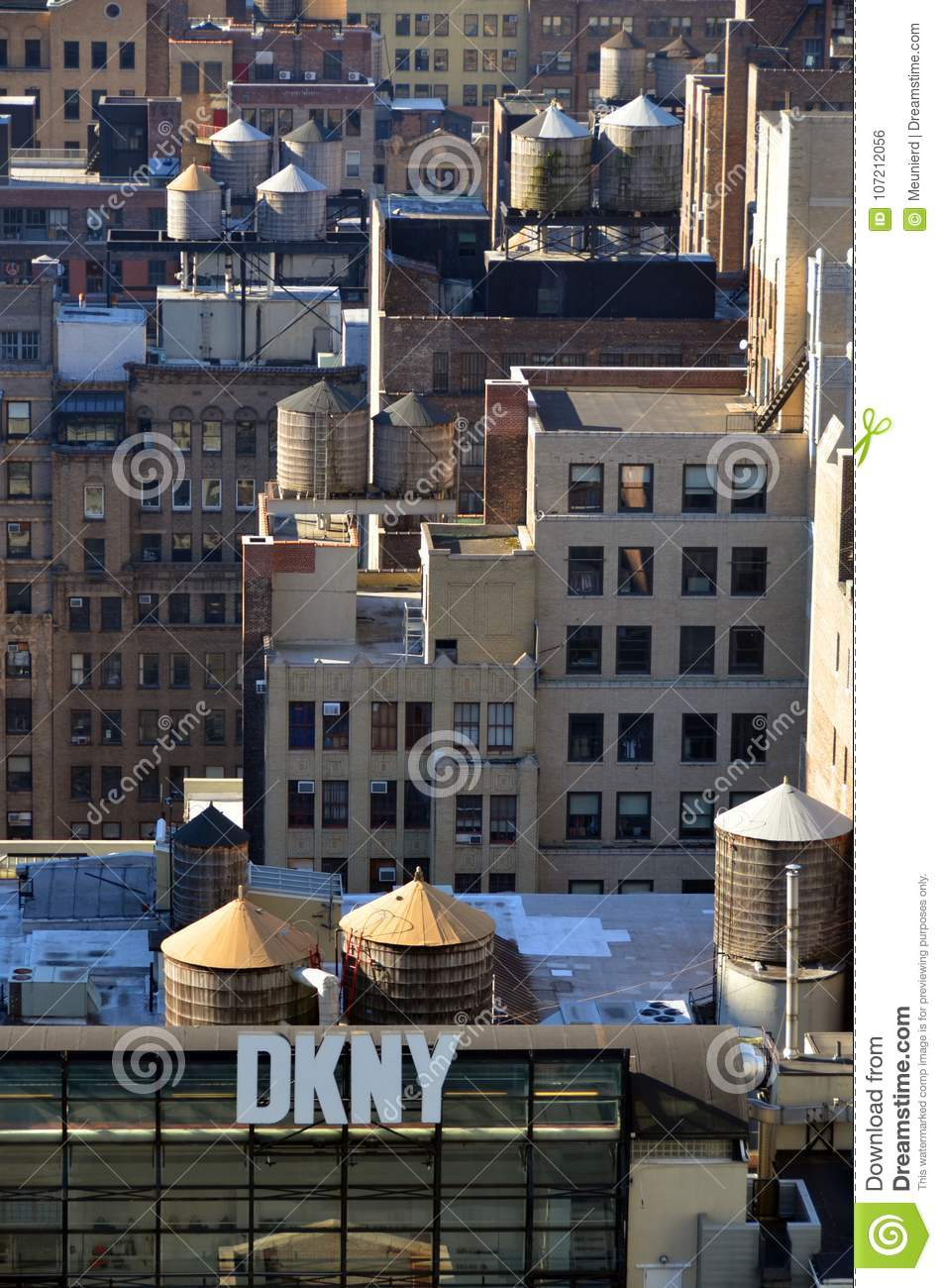 Wooden water towers editorial photo  Image of large - 107212056