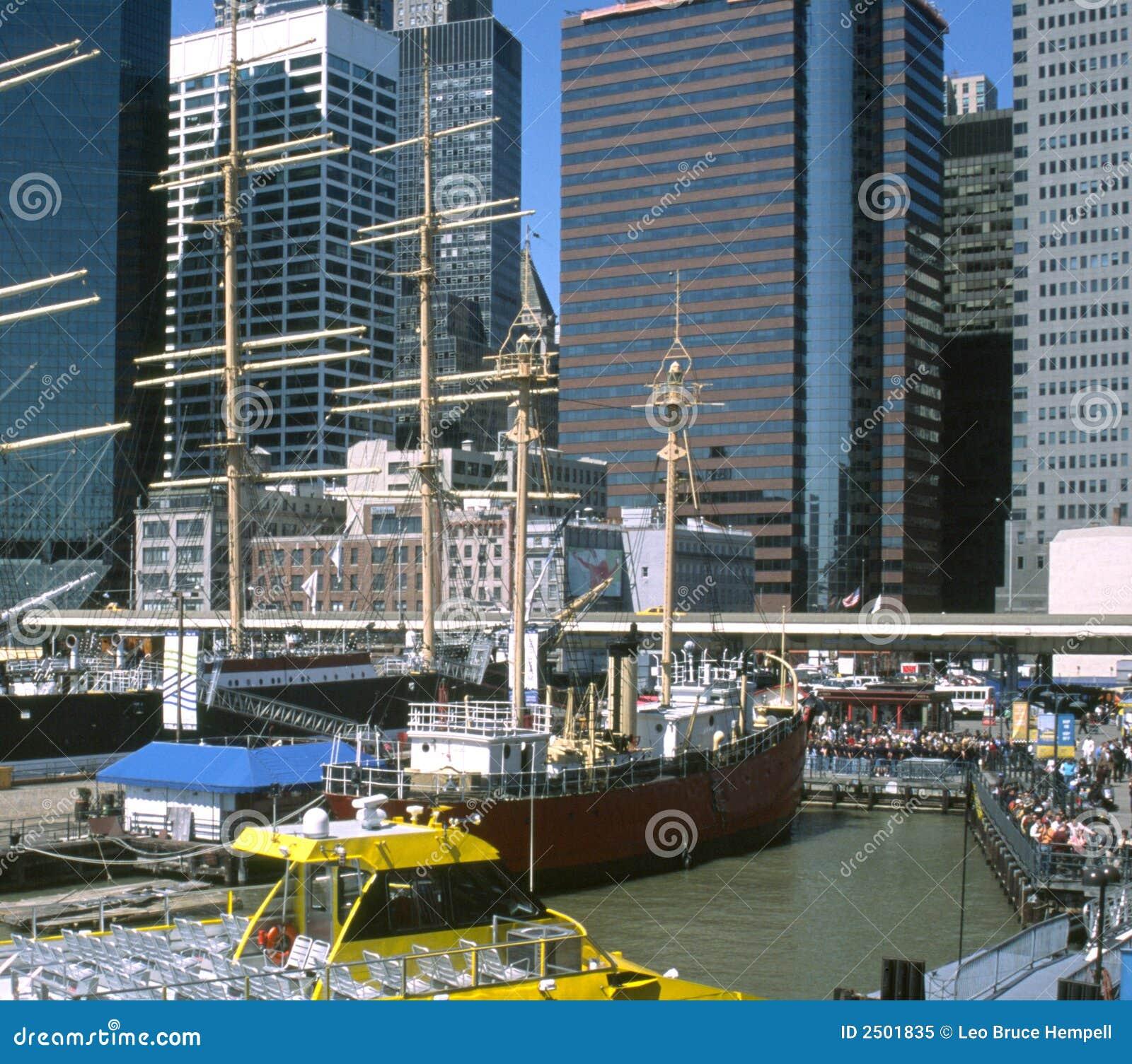New York City Waterfront USA