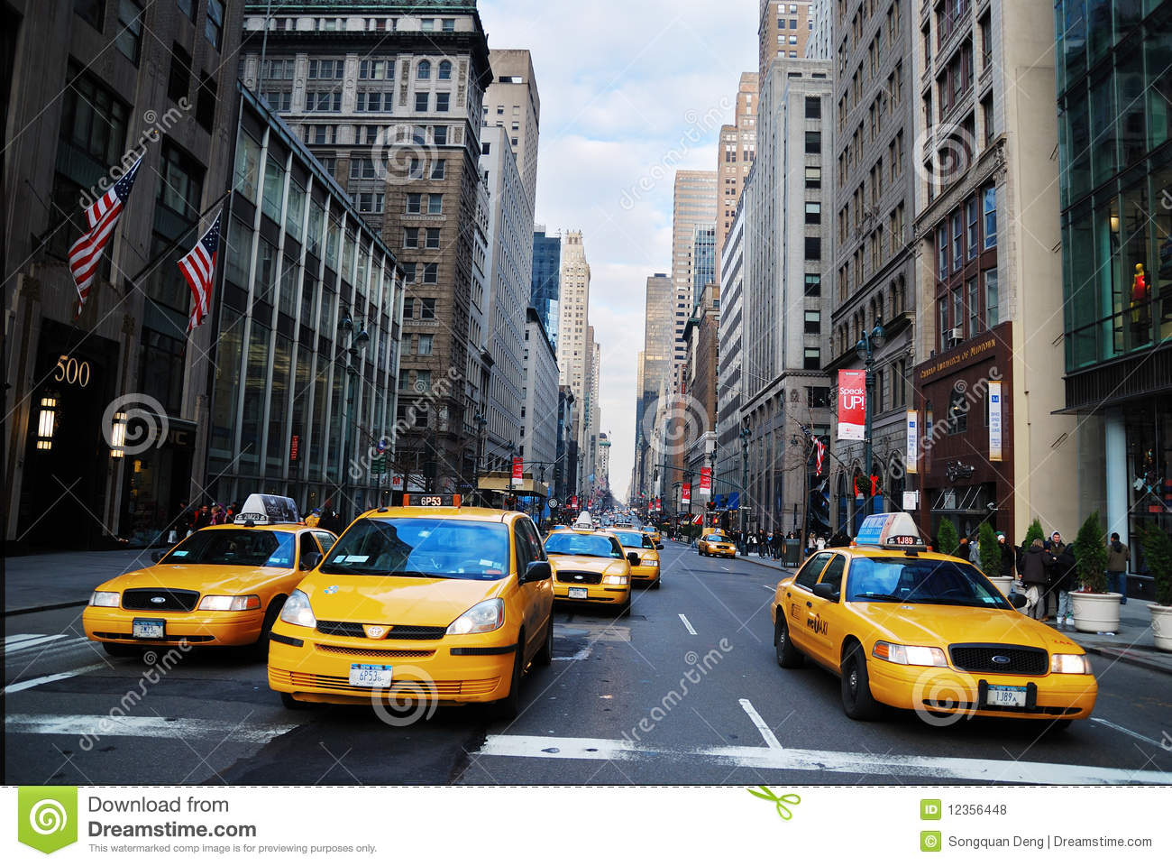 new york city yellow cab taxi editorial stock photo. Black Bedroom Furniture Sets. Home Design Ideas