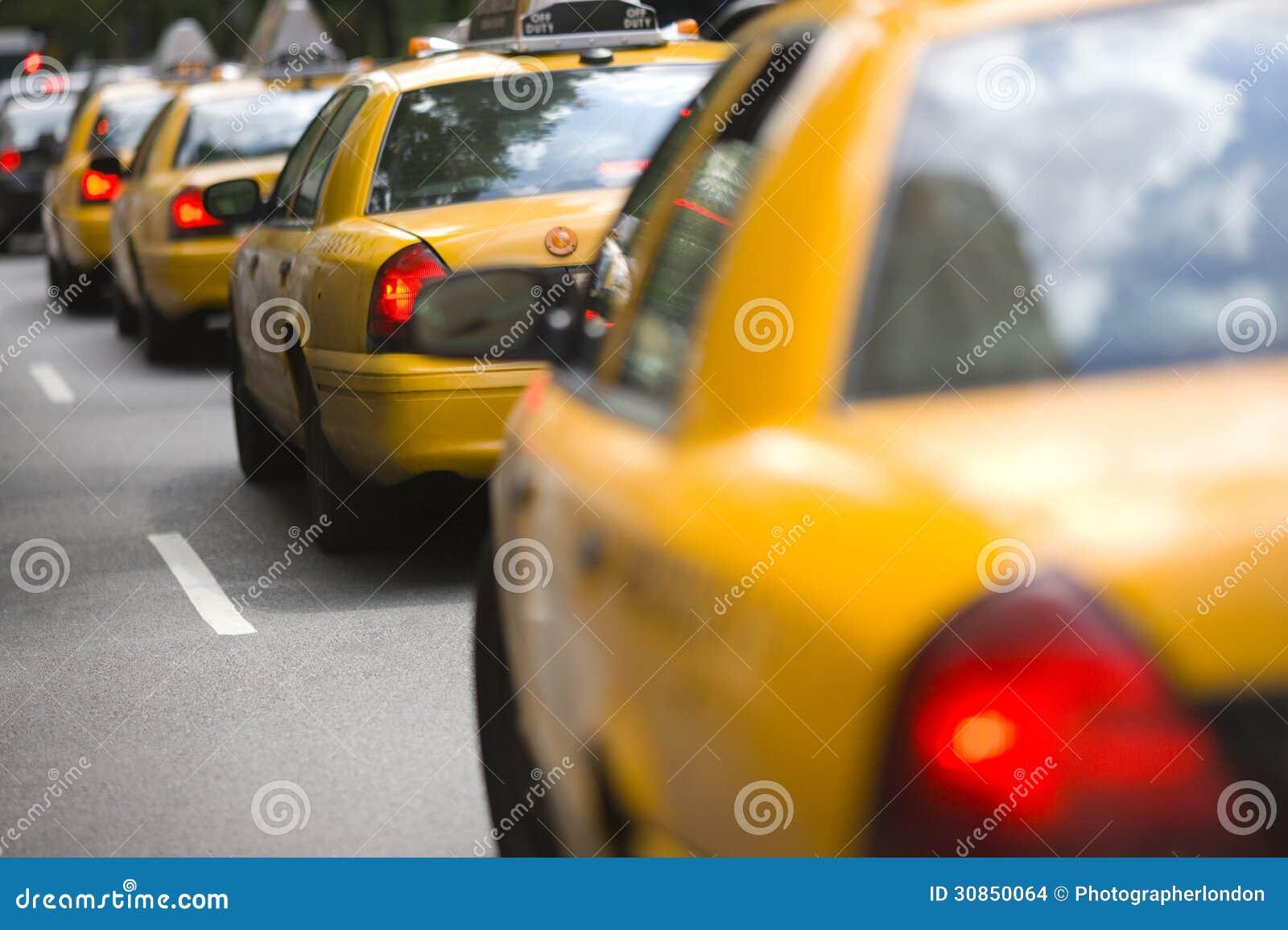 New- York Cityfahrerhäuser