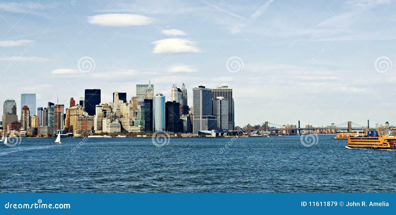 New- York Cityhafen