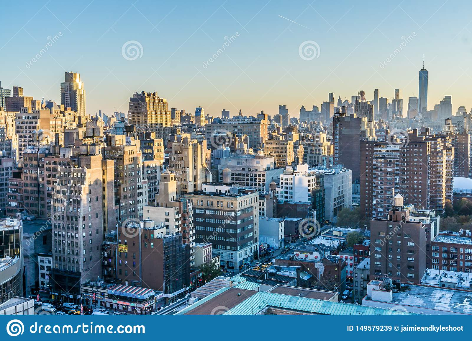 New York Cityscape at Dawn