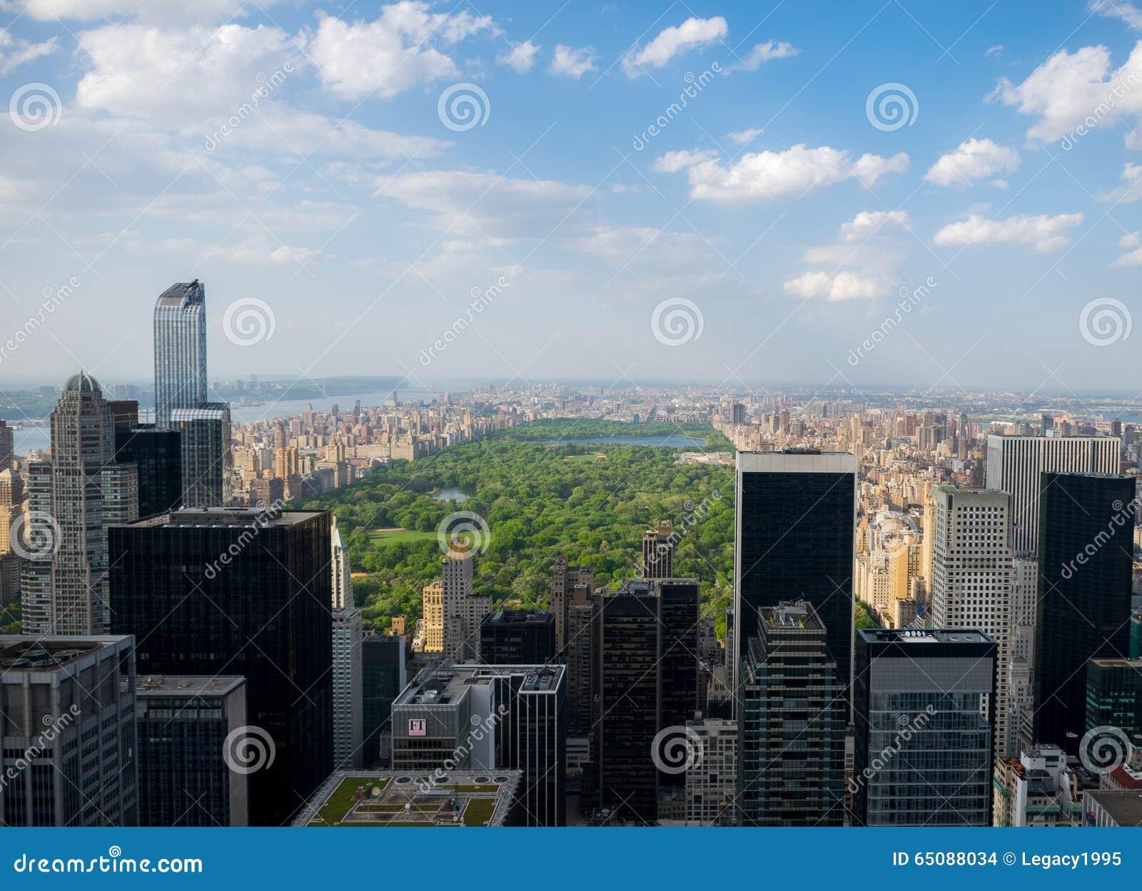 New- York Cityskyline - Central Park