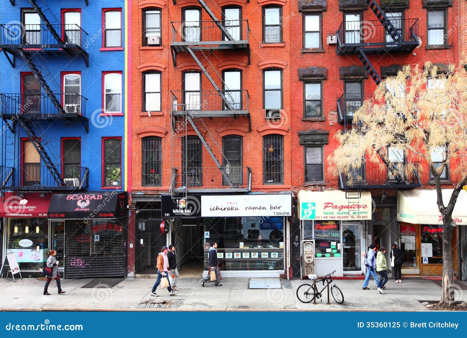 New- York Citystraßenleben