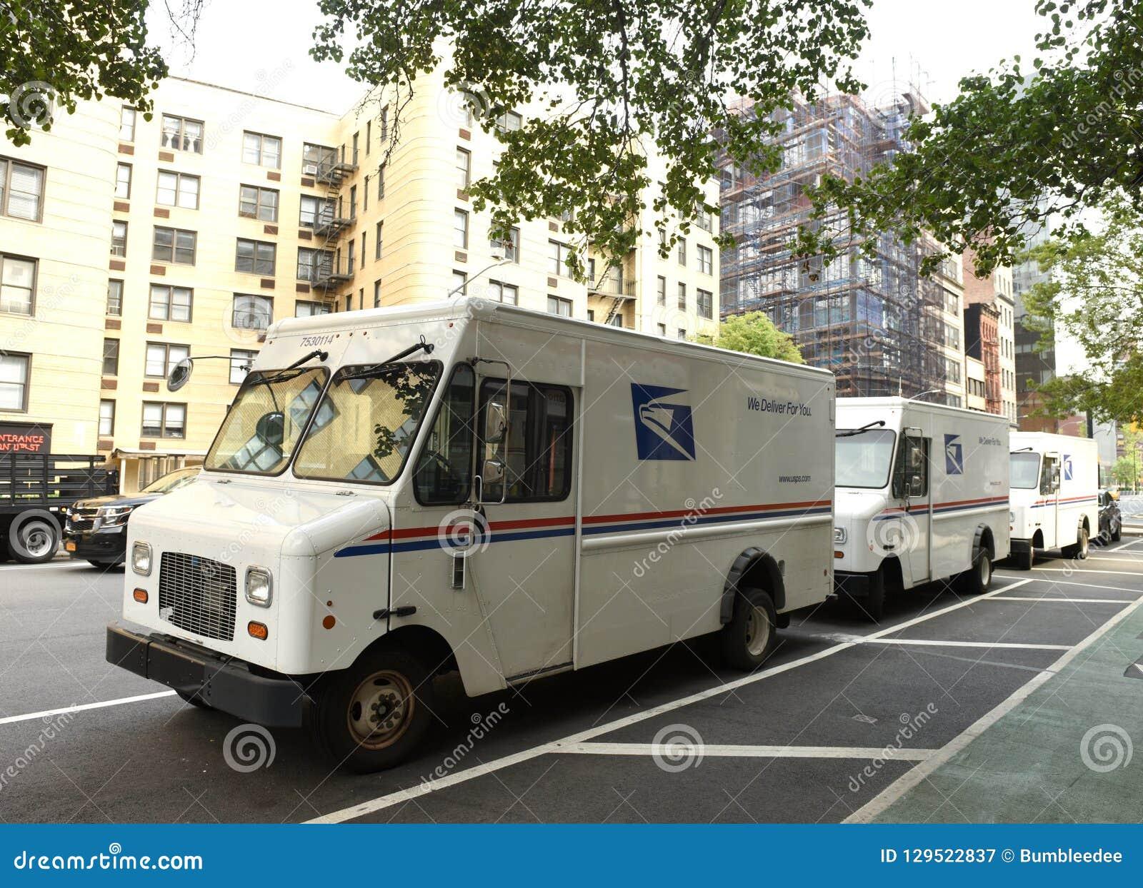 New York, de V.S. - 9 Juni, 2018: De auto s van Verenigde Staten Posts