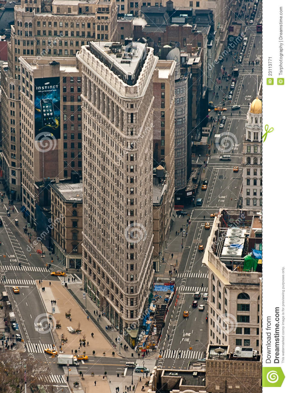 New York Flat Iron Building Editorial Photo Image Of
