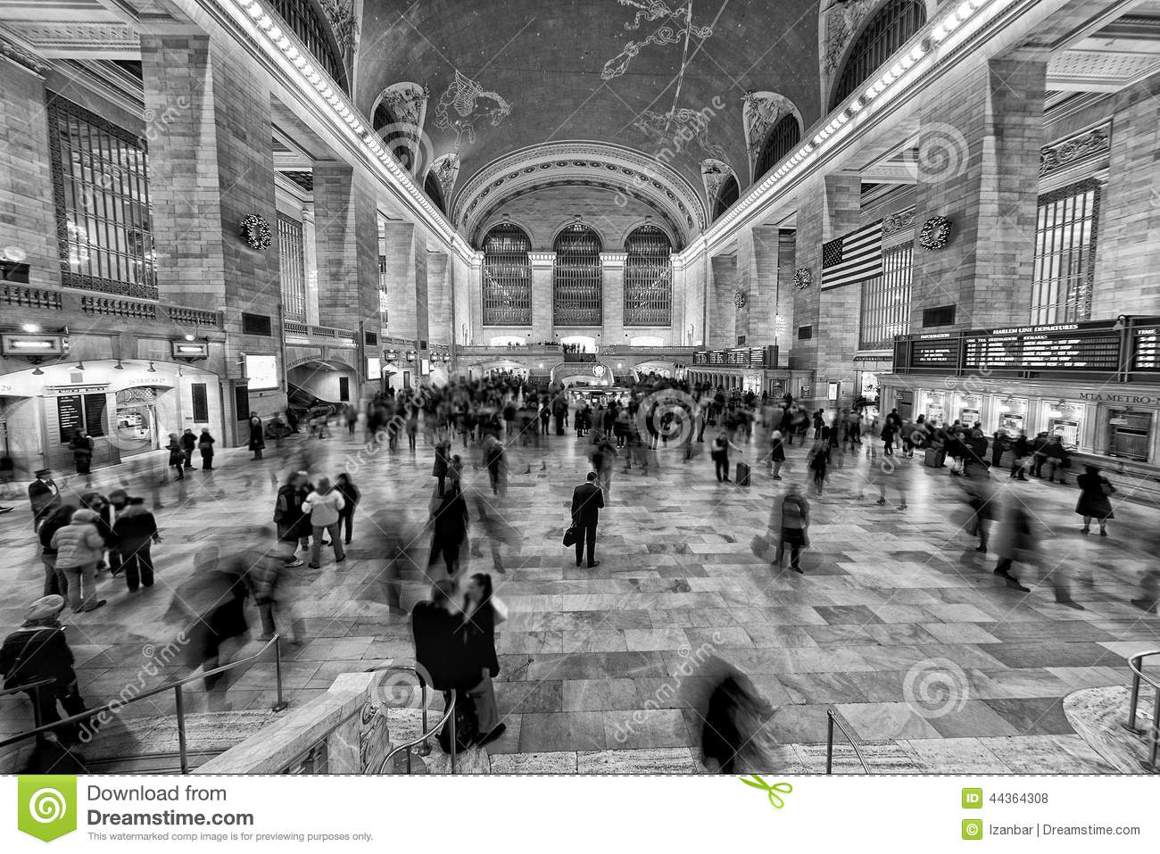 Take the Train to GRAND CENTRAL NOIR