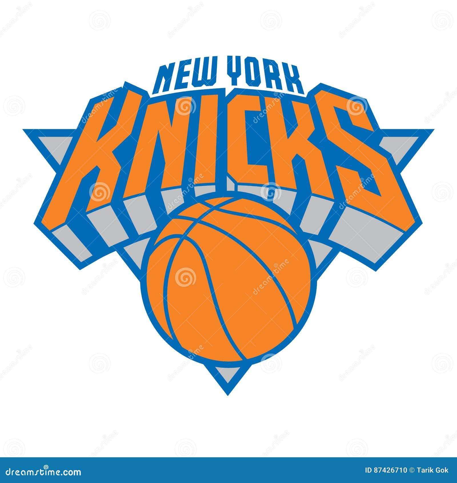 new york knicks editorial image image of brand vector