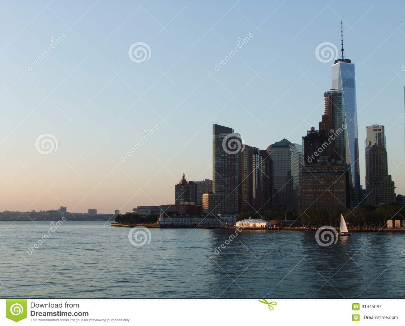 New York ladscape