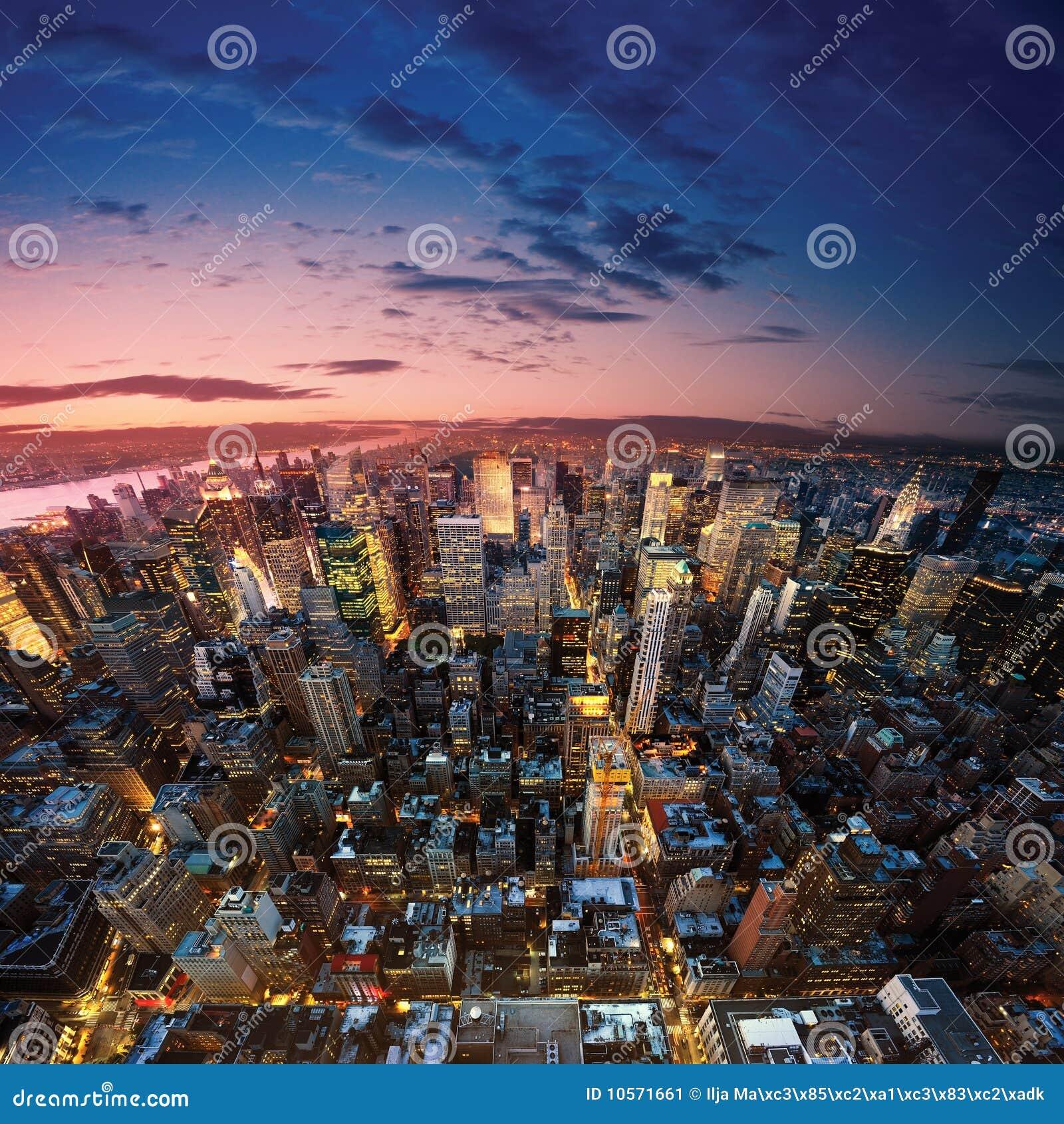 Ny Manhattan: New York Manhattan Stock Image