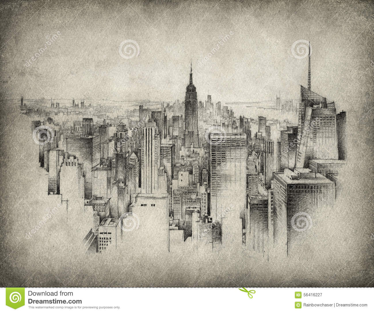 New york stock illustration image of illustration city for Disegni new york
