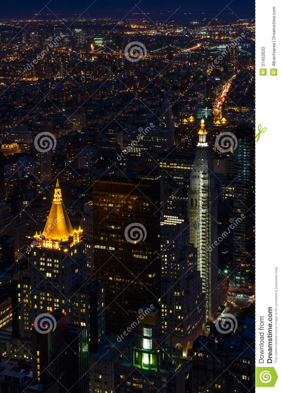 Metlife Life Insurance >> New York. Manhattan . Metropolitan Life Tower And Stock ...
