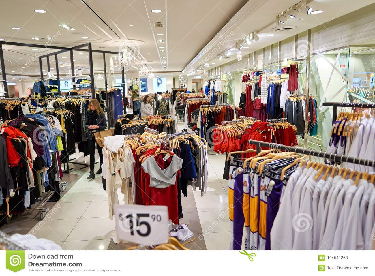 forever 21 store editorial stock photo image of mart 104541268