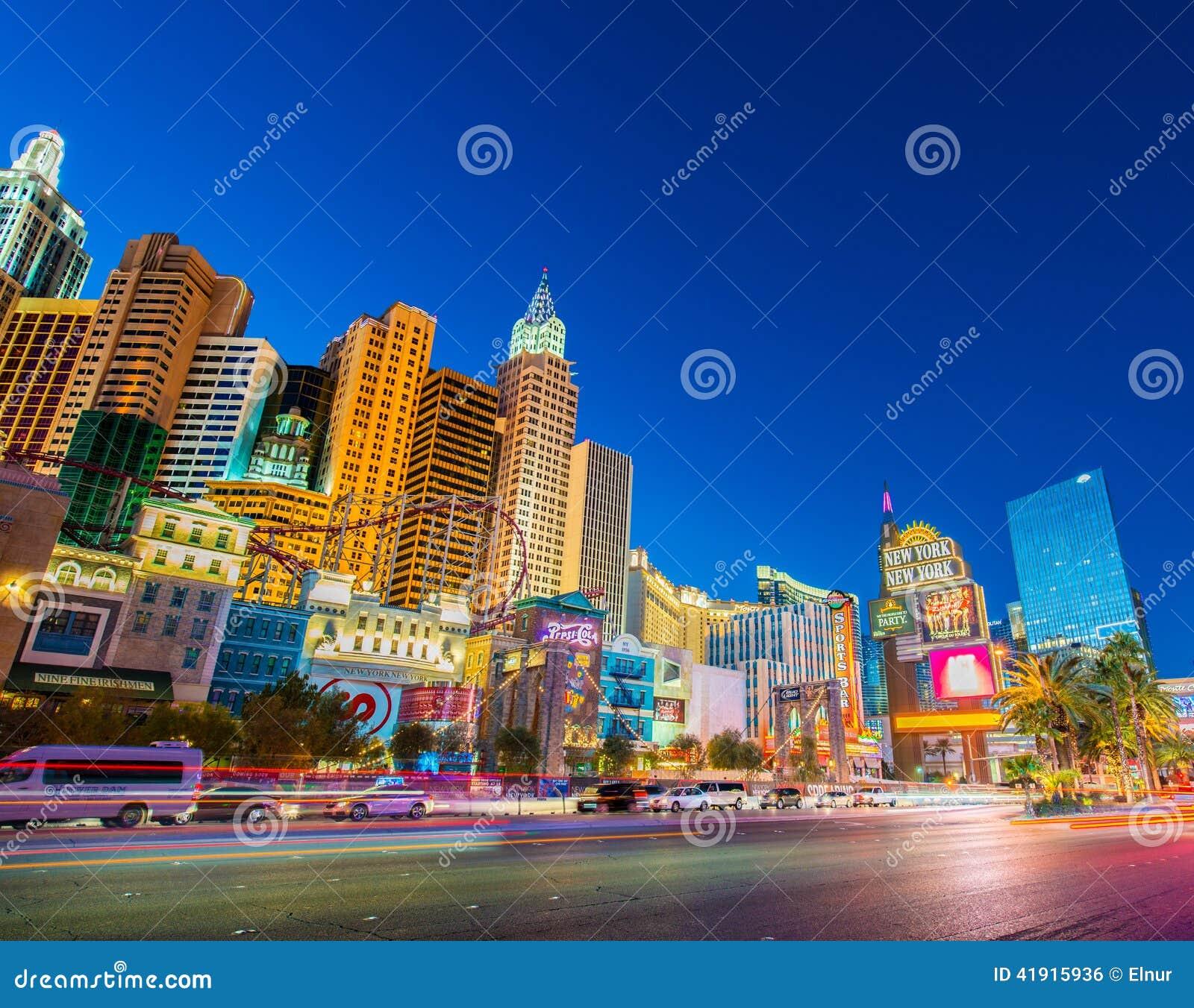 New York-New York casino on December 21