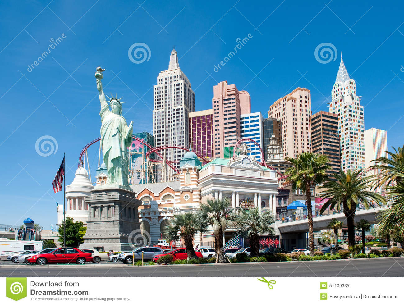 New york new york hotel casino las vegas editorial for Luxury extended stay hotels nyc