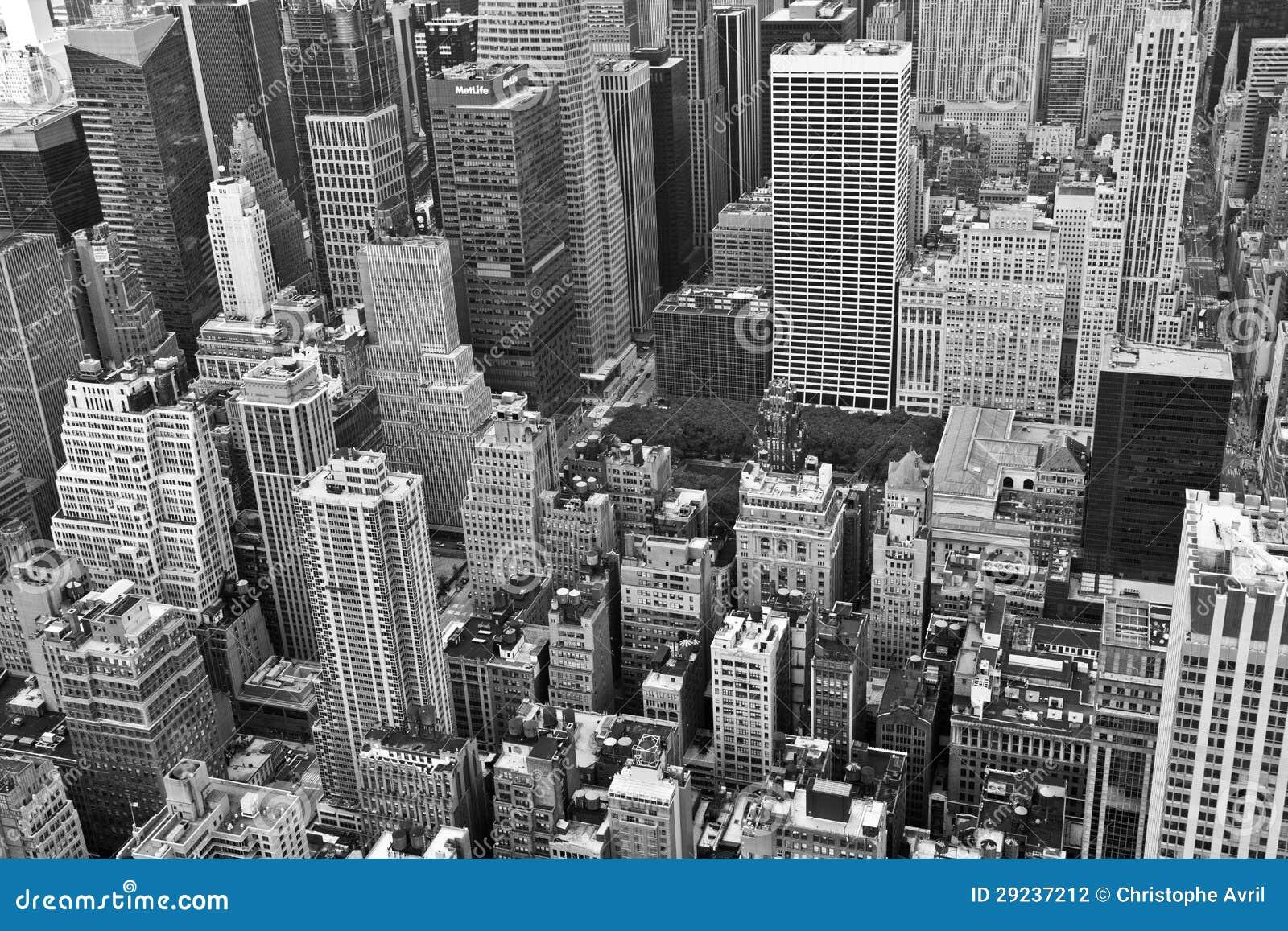 new york noir et blanc photo stock image du ville. Black Bedroom Furniture Sets. Home Design Ideas