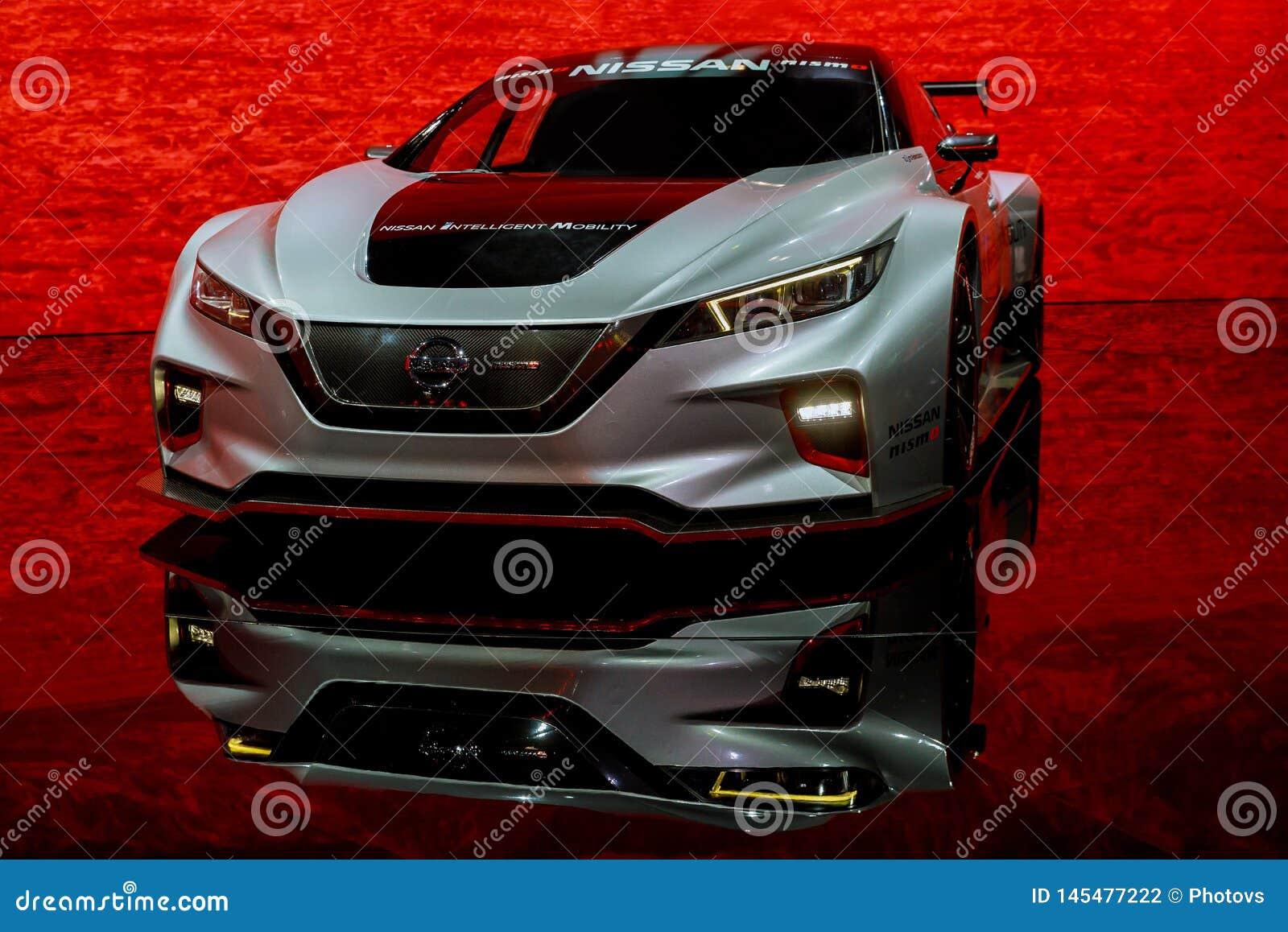 International Auto Show 2020.New York Ny Usa April 20 2019 2020 Nissan Gt R Nismo