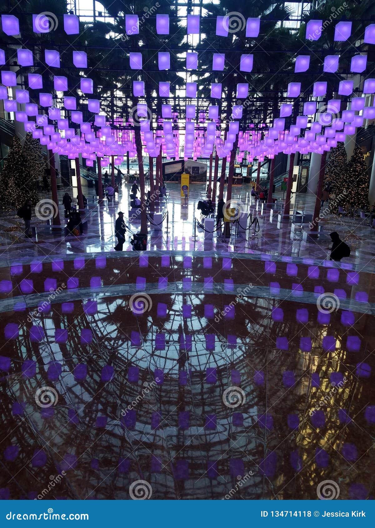 New York, NY USA, December 18, 2018, Atrium at Brookfield Place