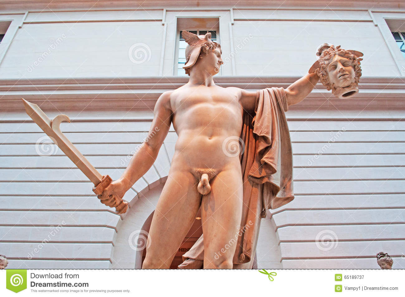 New York Perseus With The Head Of Medusa In Guggenheim