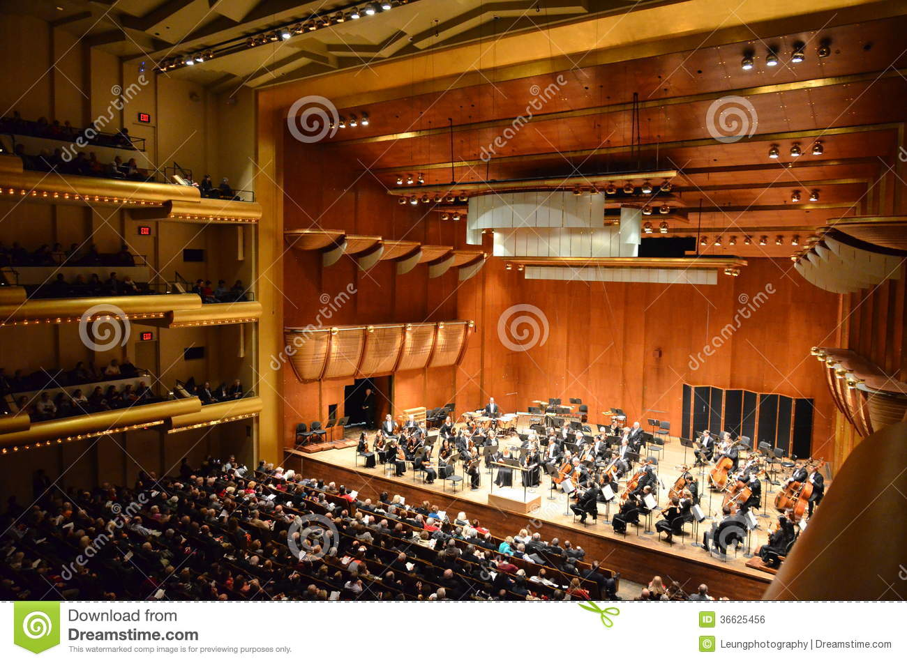 New York Philharmonic At Avery Fisher Hall Lincol