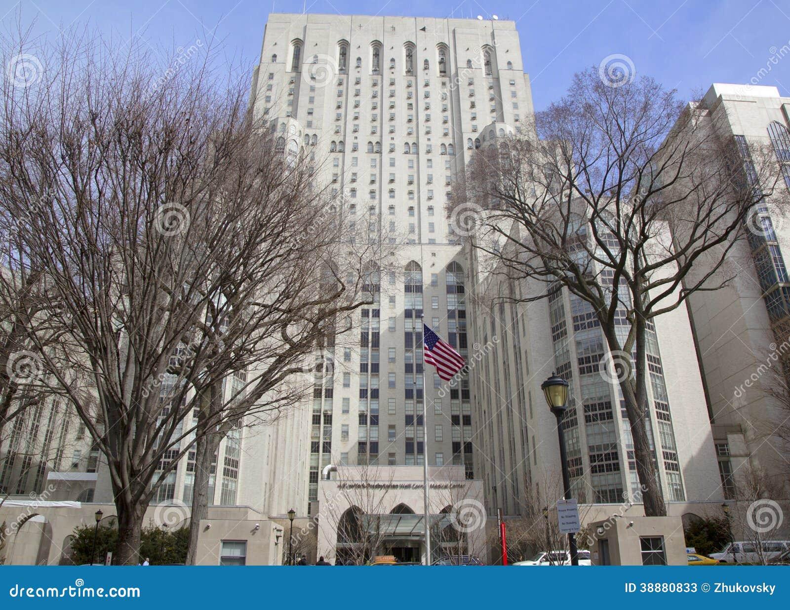 New York Presbyterian Cornell Medical Center Editorial Stock Photo