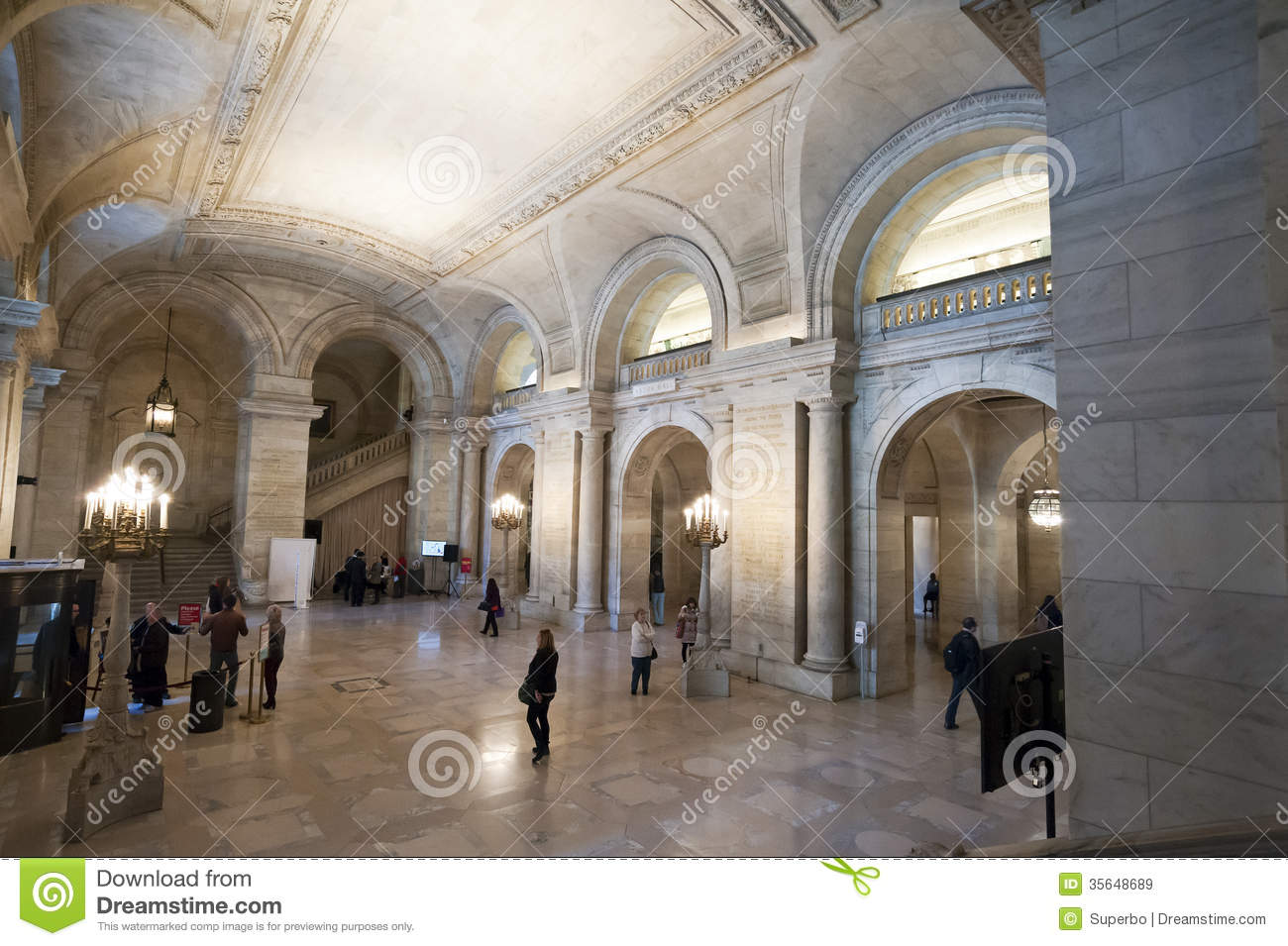 Royalty Free Stock Images New York Public Library Interior October Nearly Million Items Second Largest Image35648689 on Latest Book Writing App
