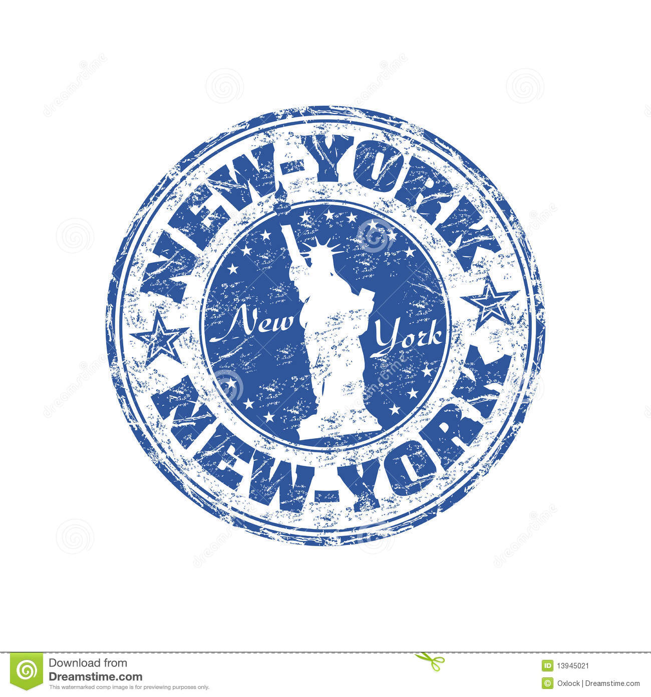 New york rubber stamp stock image image 13945021 for New york state architect stamp
