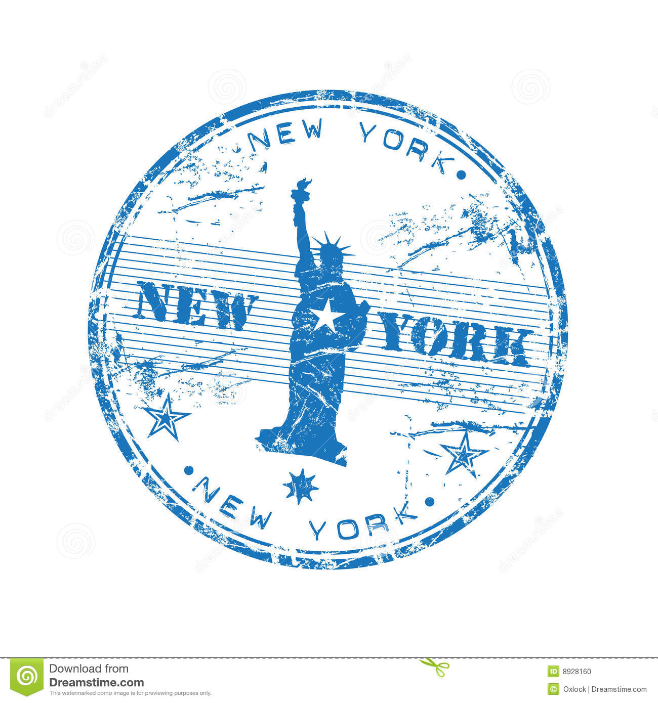 New york rubber stamp stock photo image 8928160 for New york state architect stamp