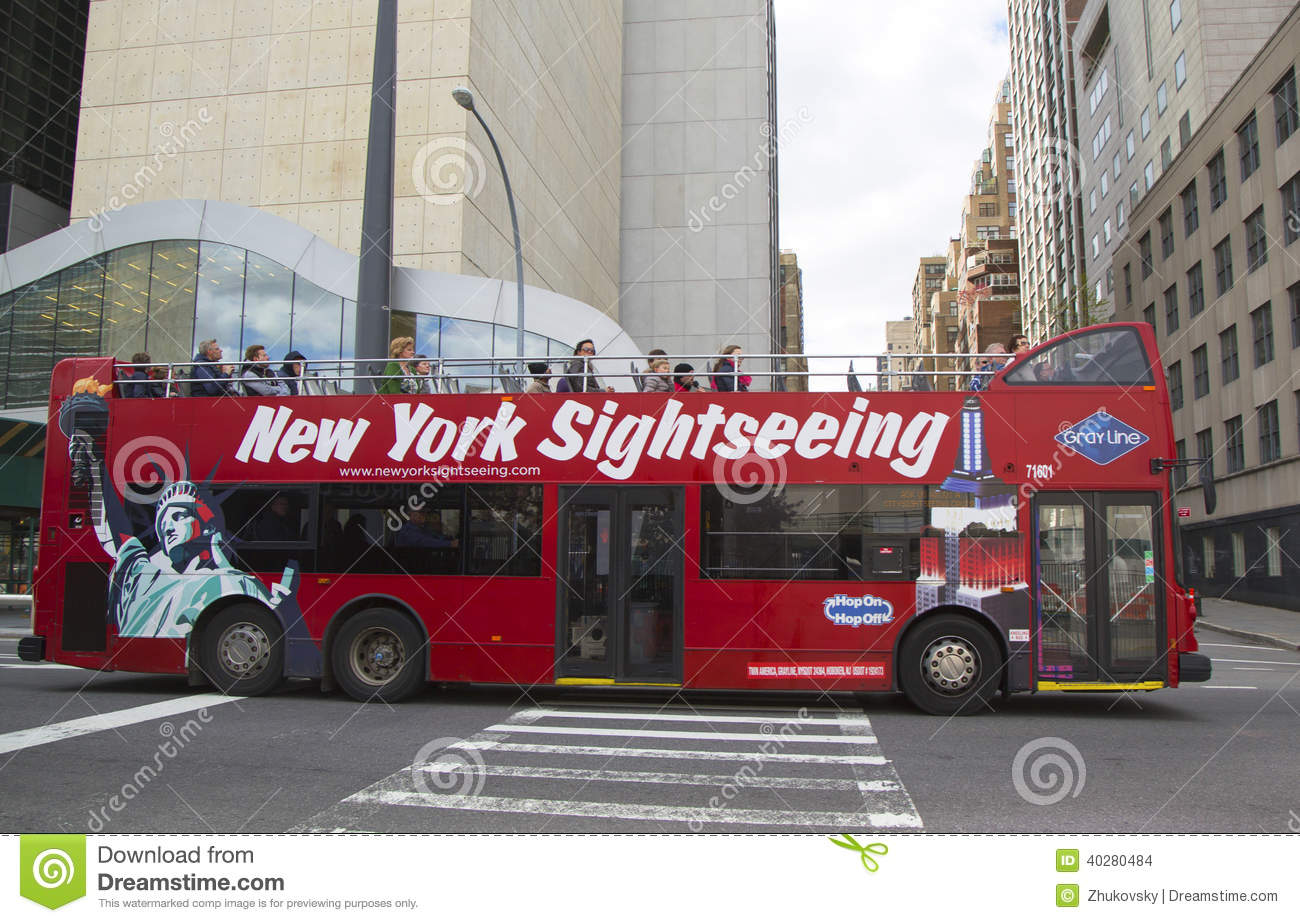 New York Hop on Hop off Bus Tour options for Sightseeing Pass holders.