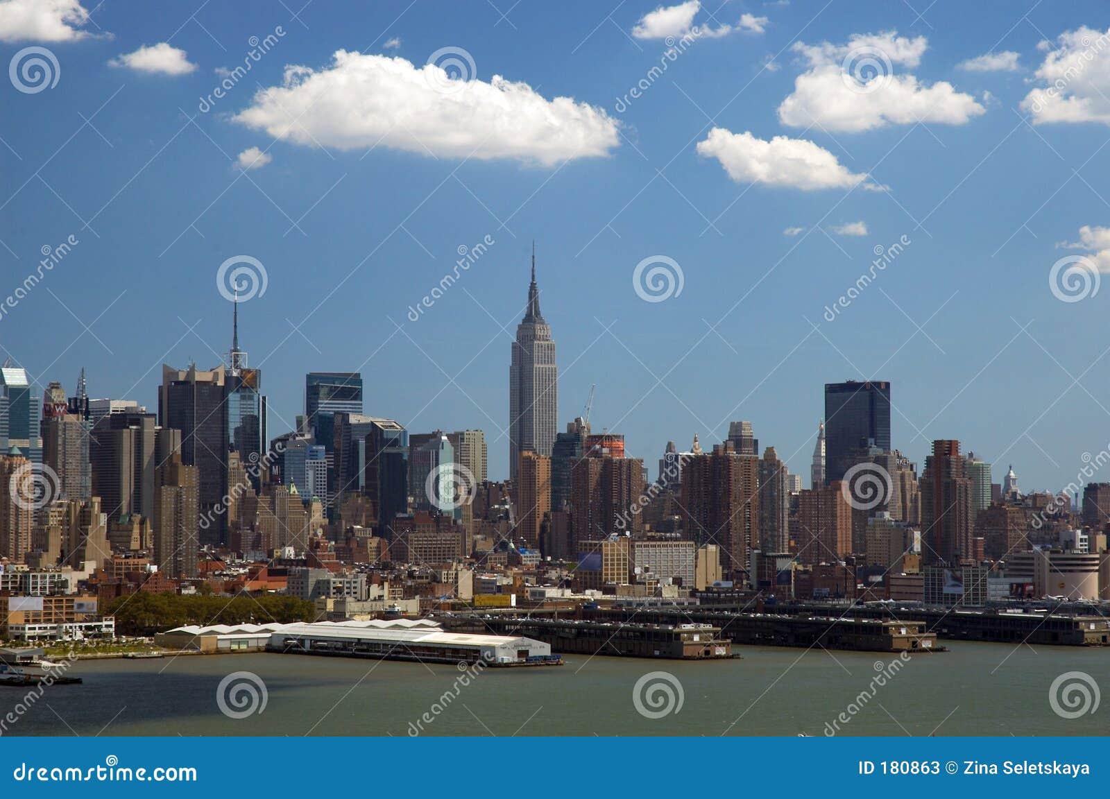 new york skyline stock photos image 180863. Black Bedroom Furniture Sets. Home Design Ideas