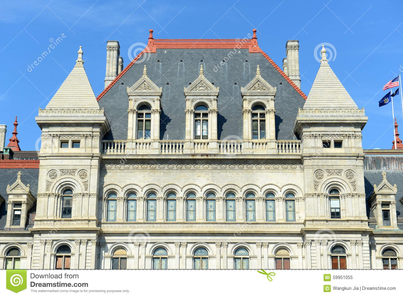 New Albany (MS) United States  city photos : New York State Capitol, Albany, New York, USA. This building was built ...
