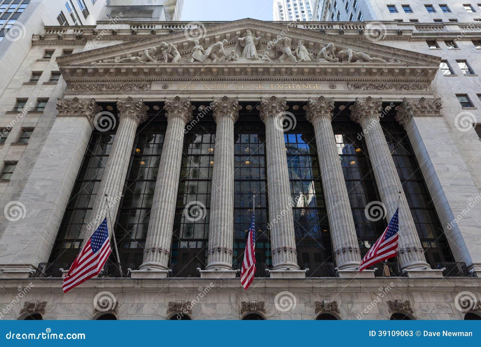 New York Stock Exchange-de Bouw, Manhattan