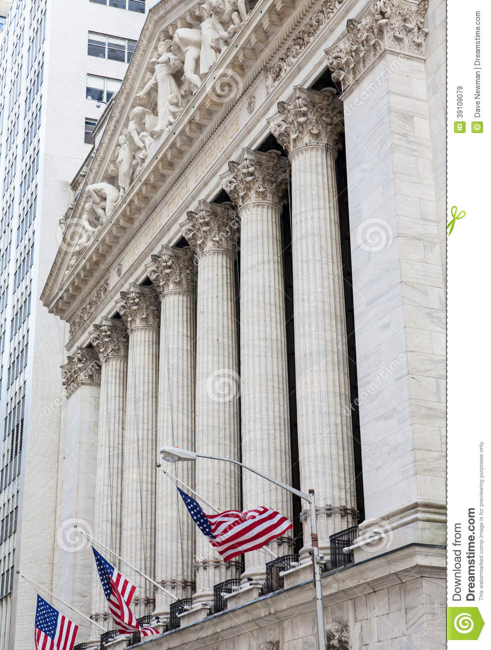 New York Stock Exchange-de Bouw, Manhattan