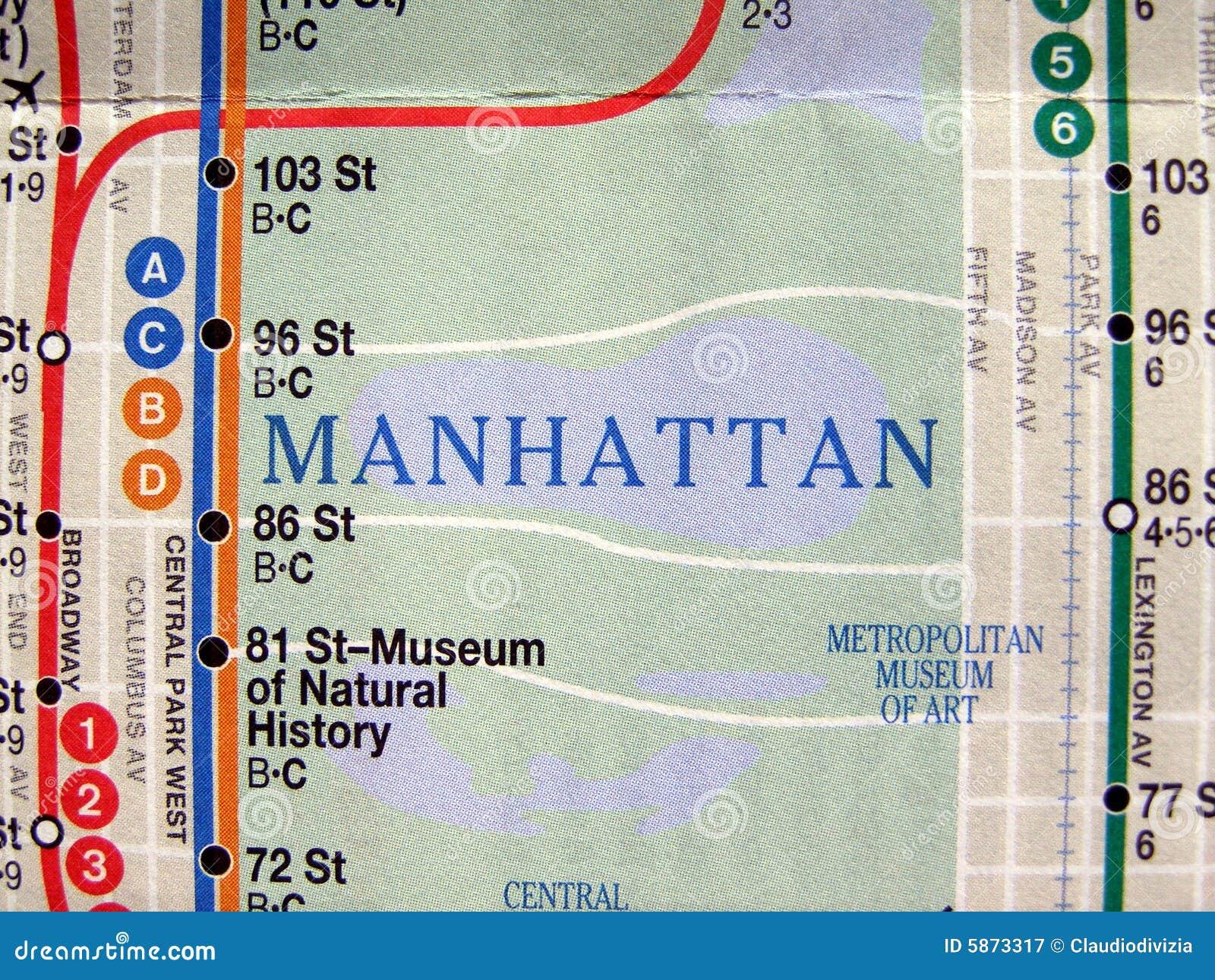 Subway Map 77 Street.New York Subway Map Stock Image Image Of Maps Public 5873317