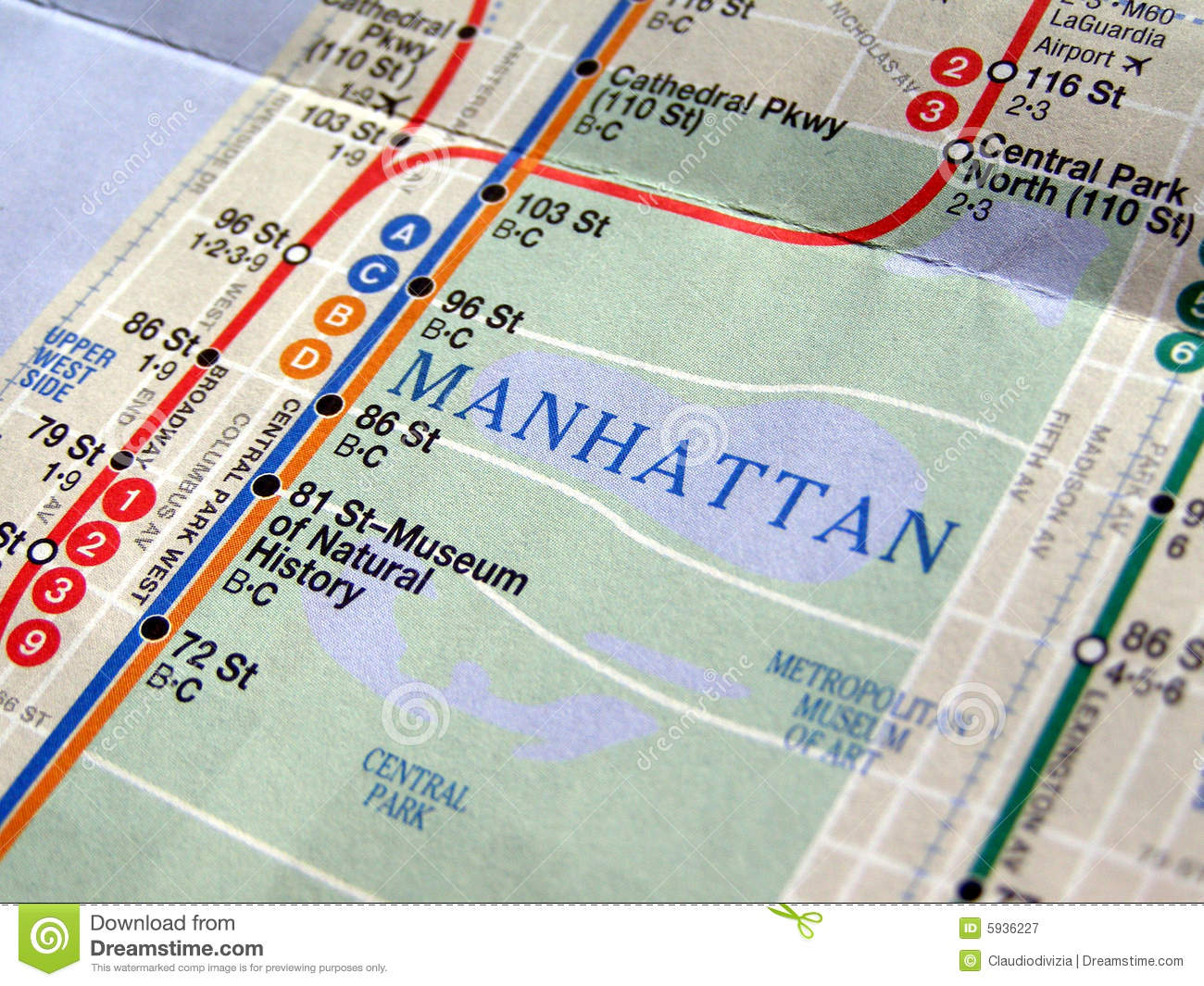 New York subway map stock image. Image of stations, tube - 5936227