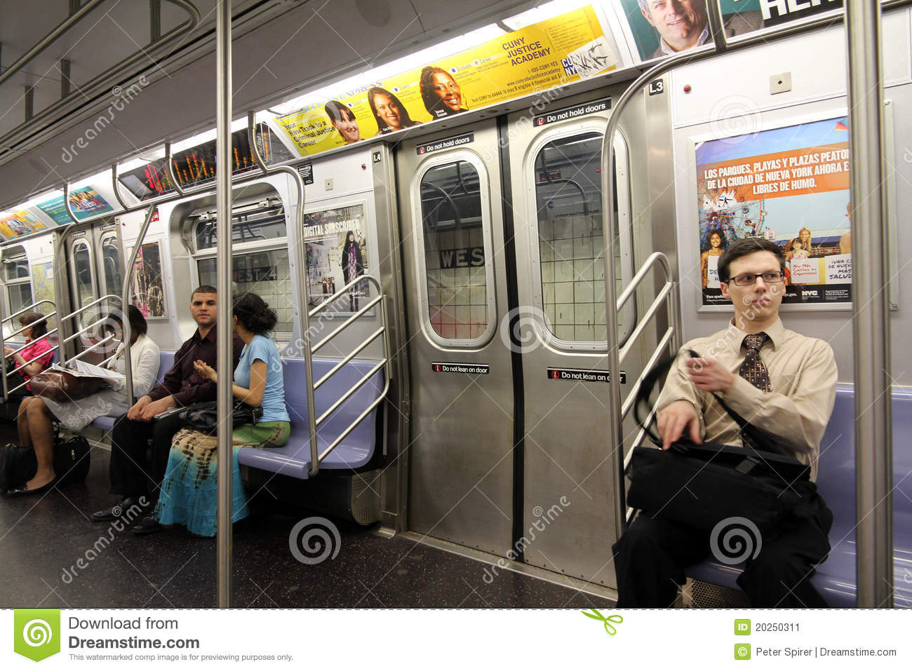 new york subway train interior editorial photo image 20250311. Black Bedroom Furniture Sets. Home Design Ideas