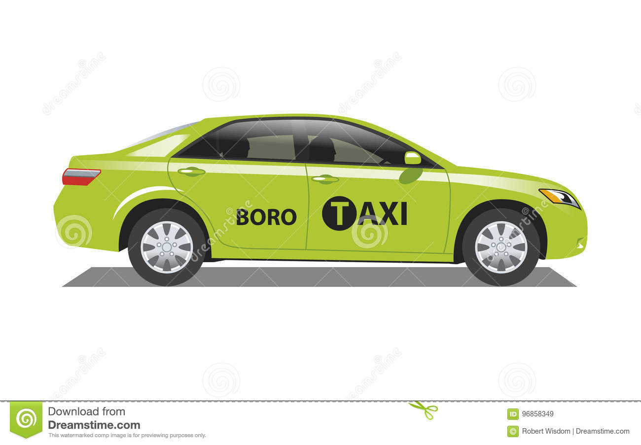 New York Taxicab Boro editorial stock image  Illustration of