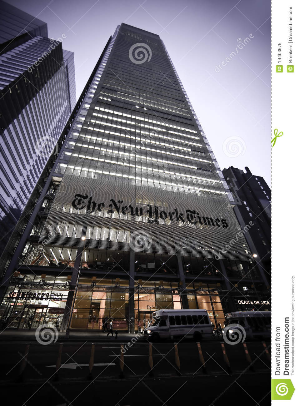 The New York Times Building Editorial Image Image 14403675