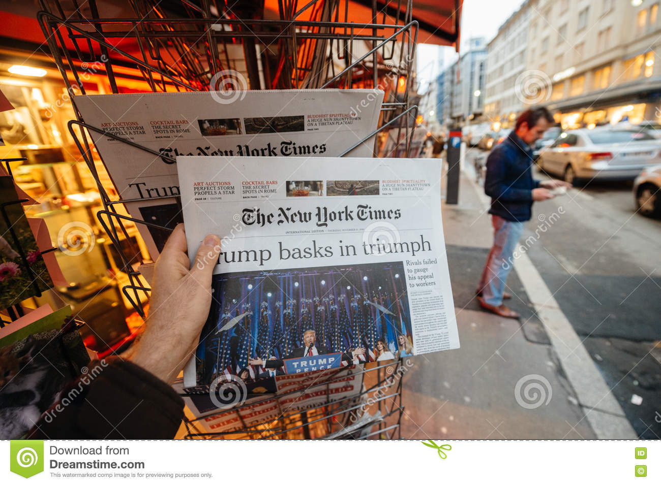 The New York Times Donald Trump new USA president
