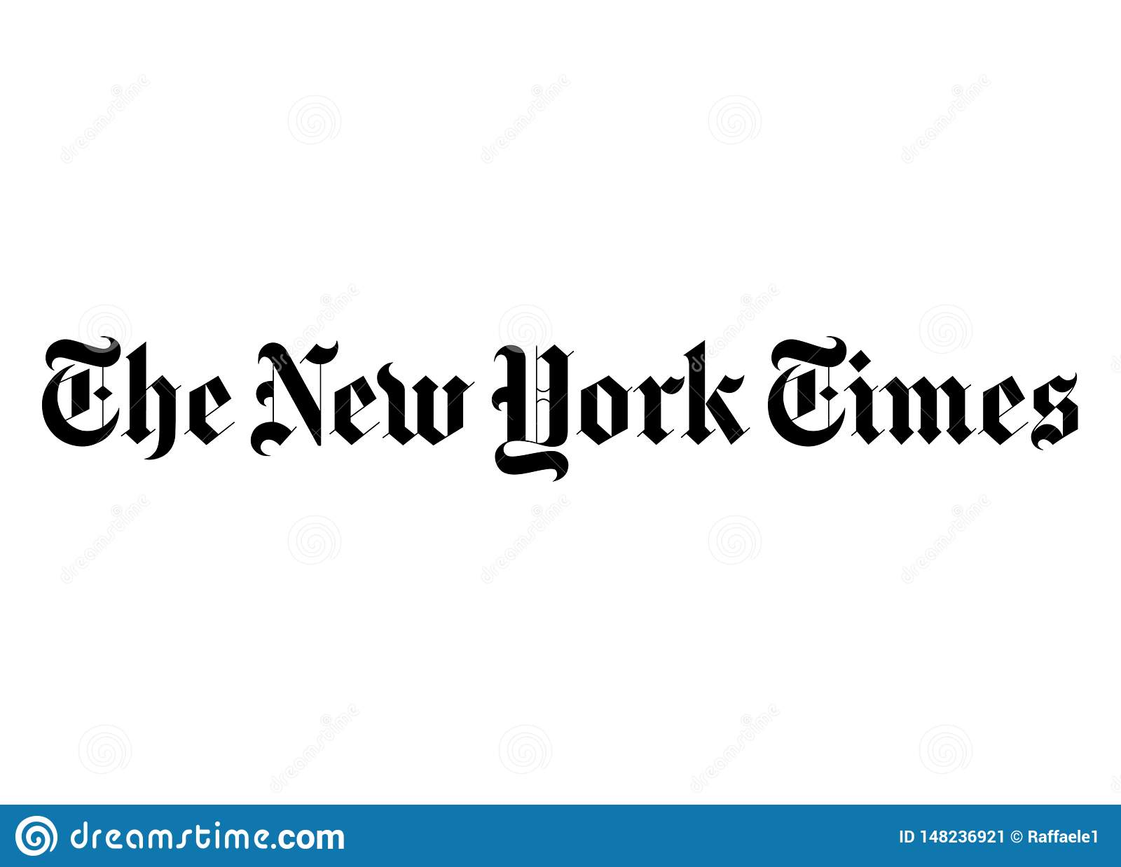 The New York Times Logo Editorial Photo Illustration Of Advertise 148236921