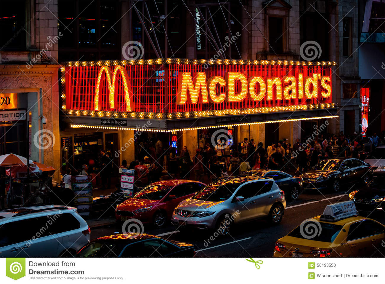 Food Restaurants In Times Square