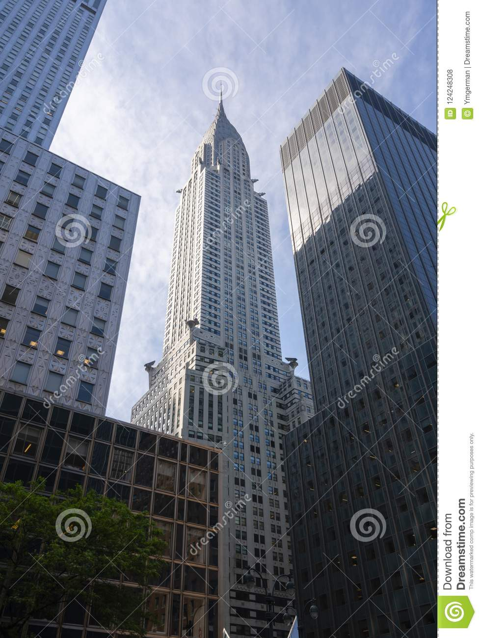 View Of Chrysler Building In New York City Editorial Stock Photo