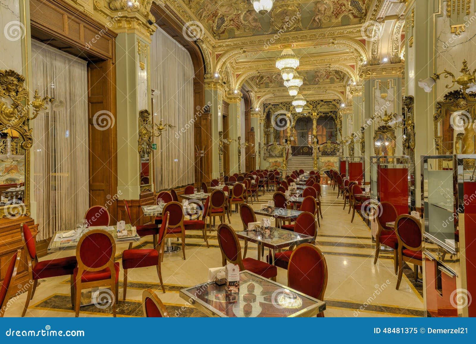 New- Yorkcafé - Budapest, Ungarn Redaktionelles Bild - Bild von ...