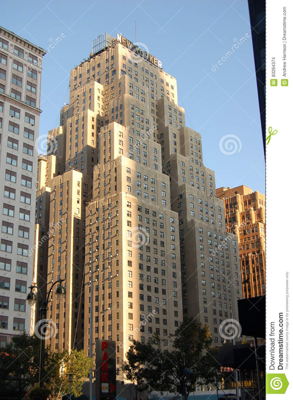 The new yorker hotel new york usa editorial stock image - Hotel madison square garden new york ...
