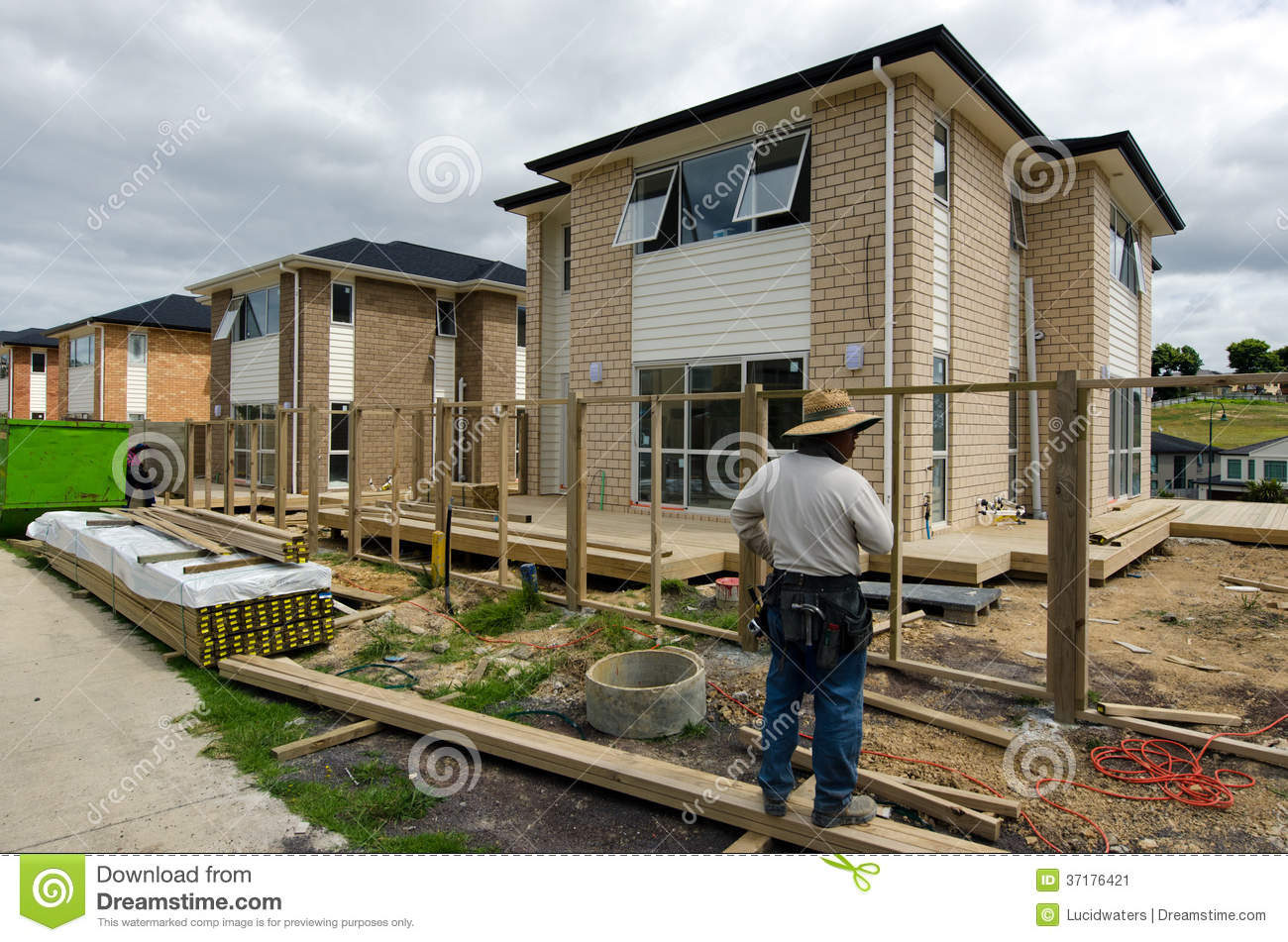 New zealand housing property and real estate market for Building an estate
