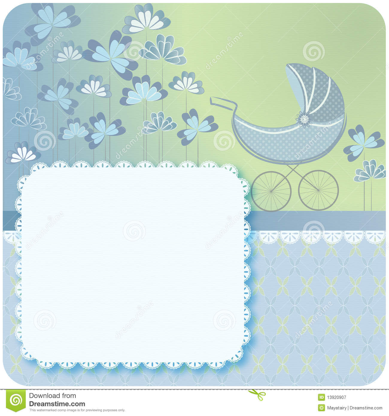 Newborn Baby Announcement Royalty Free Stock Photography ...