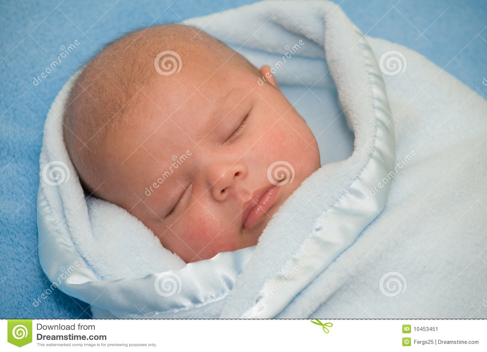 a newborn baby boy